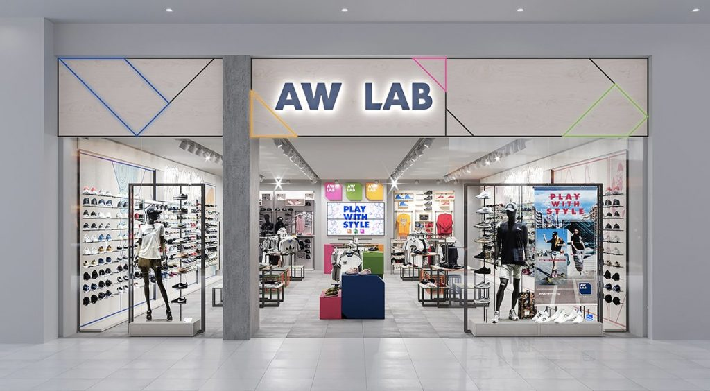Singapore Sneaker Shopping Guide AW Lab Suntec City
