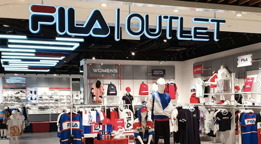 Singapore Sneaker Shopping Guide FIla Outlet Changi CIty Point