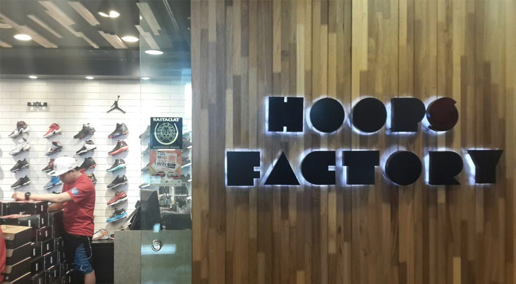 Singapore Sneaker Shopping Guide Hoops Factory Northpoint Nestia