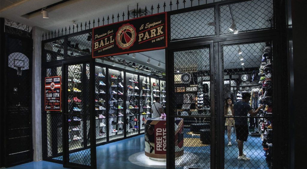 Singapore Sneaker Shopping Guide Limited Edt Ball Park 313 Limited Edt