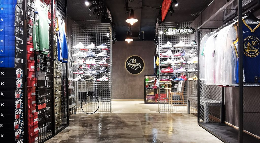 Singapore Sneaker Shopping Guide Sneakers club Queensway