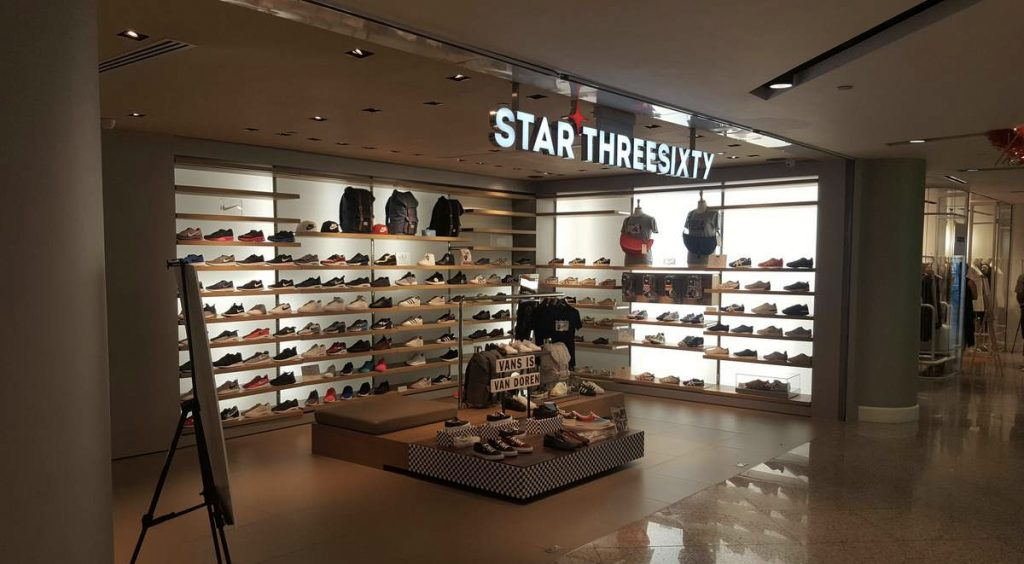 Singapore Sneaker Shopping Guide Star360 Wheelock place Nestia