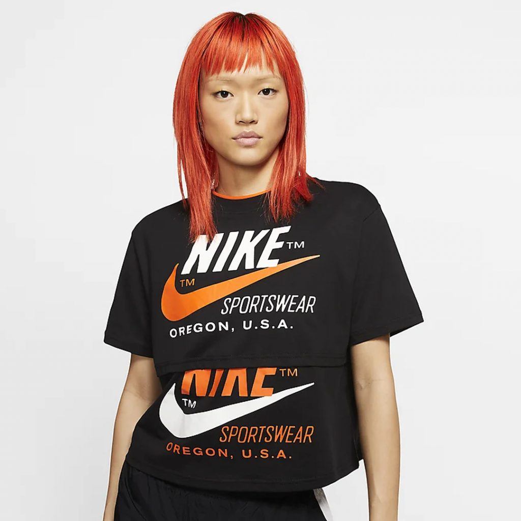 Valentines Shopping Guide Nike Short-Sleeve Top