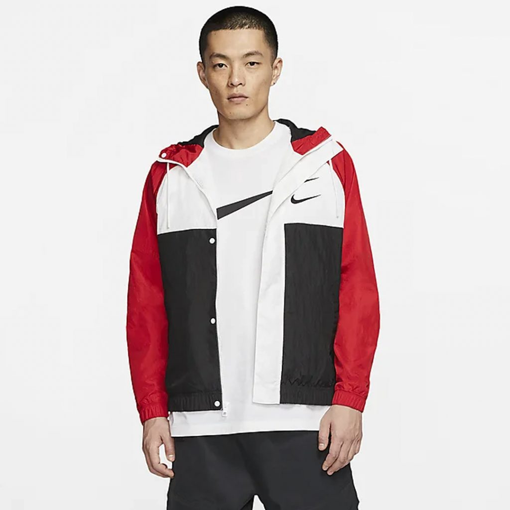 Valentines Shopping Guide Nike Sportswear Swoosh Hooded Jacket