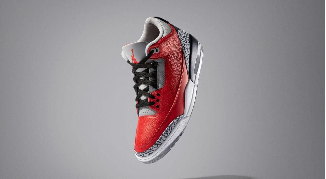 "Air Jordan 3 Retro SE ""Red Cements"" Weekly Drops Feb 11 Banner"