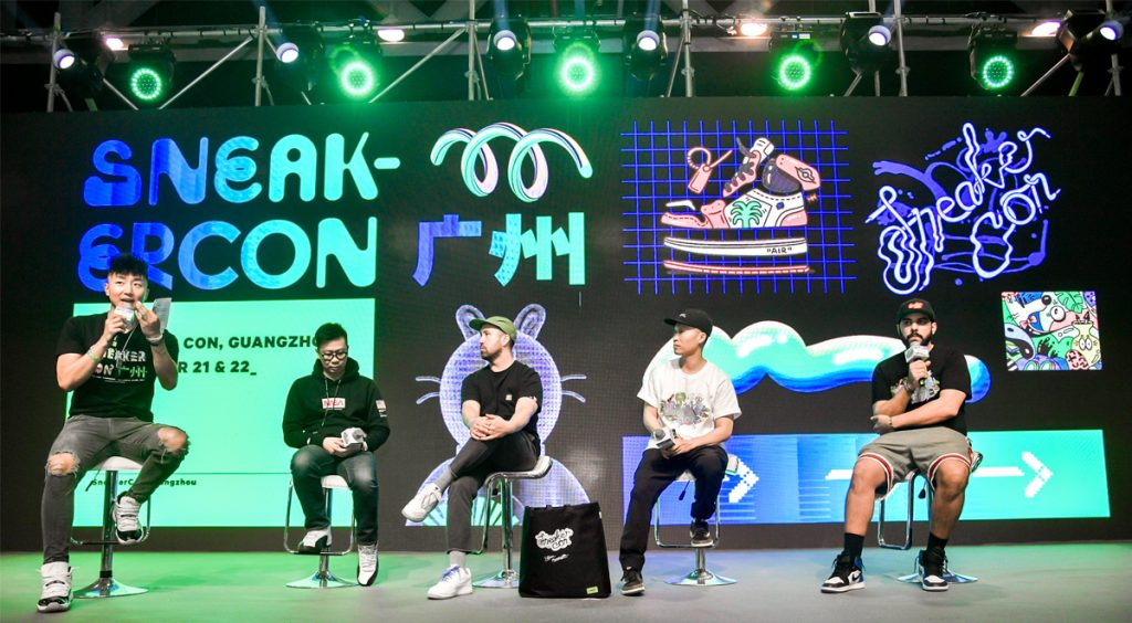 Alan Vinogradov Sneaker Con Panel discussions