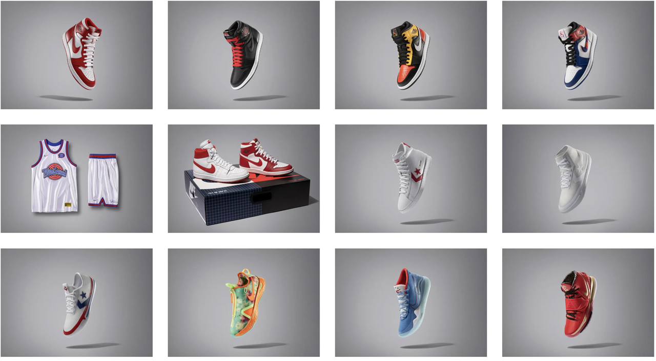 All-Star Weekend Banner 2020 releases Sneaker history