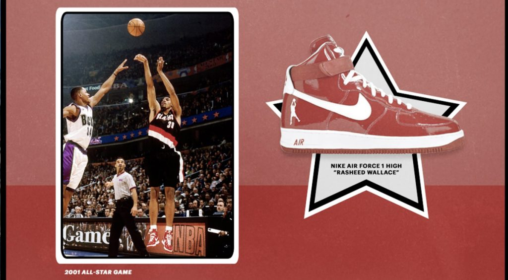 All-Star Weekend NBA 2020 Nike Air Force 1 High Rasheed Wallace