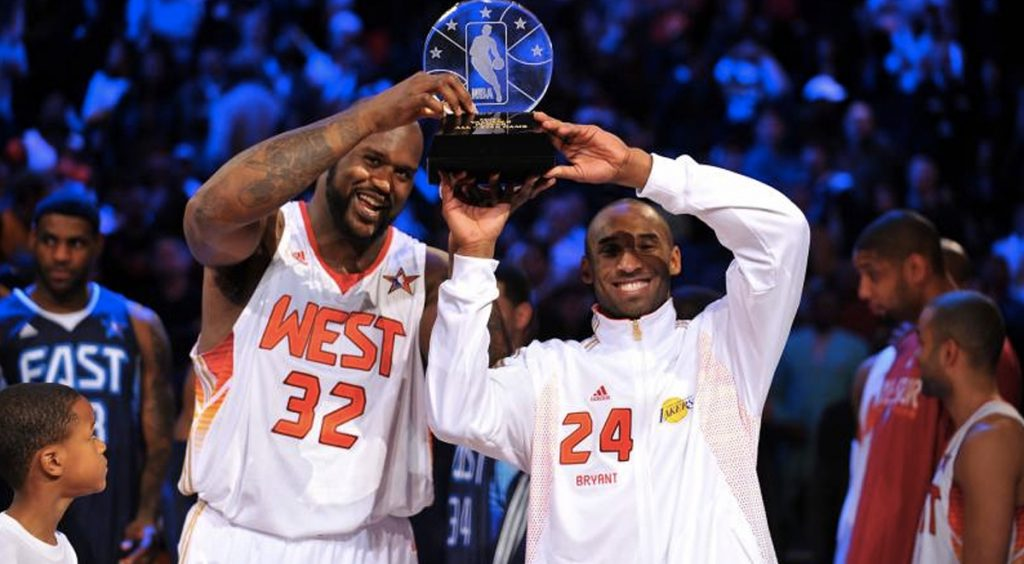 All-Star Weekend NBA 2020 Shaq and Kobe