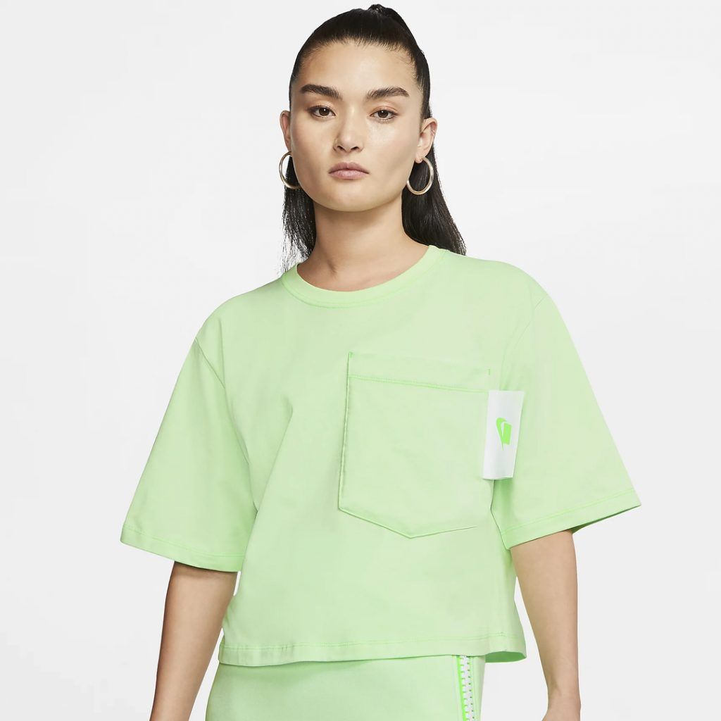 Nike Sportswear Short Sleeve crop top International women's day 2020 singapore