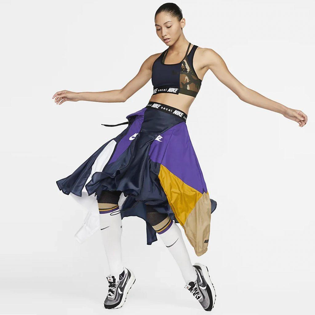 Nike x Sacai Skirt International women's day 2020 singapore