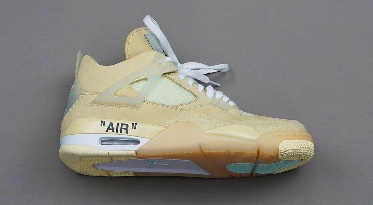 Off-White x Nike Air Jordan 4 MCA Chicago