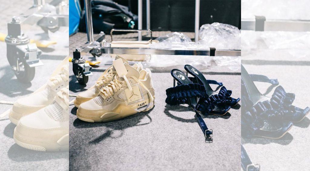 Off-White x Nike Air Jordan 4 virgil abloh