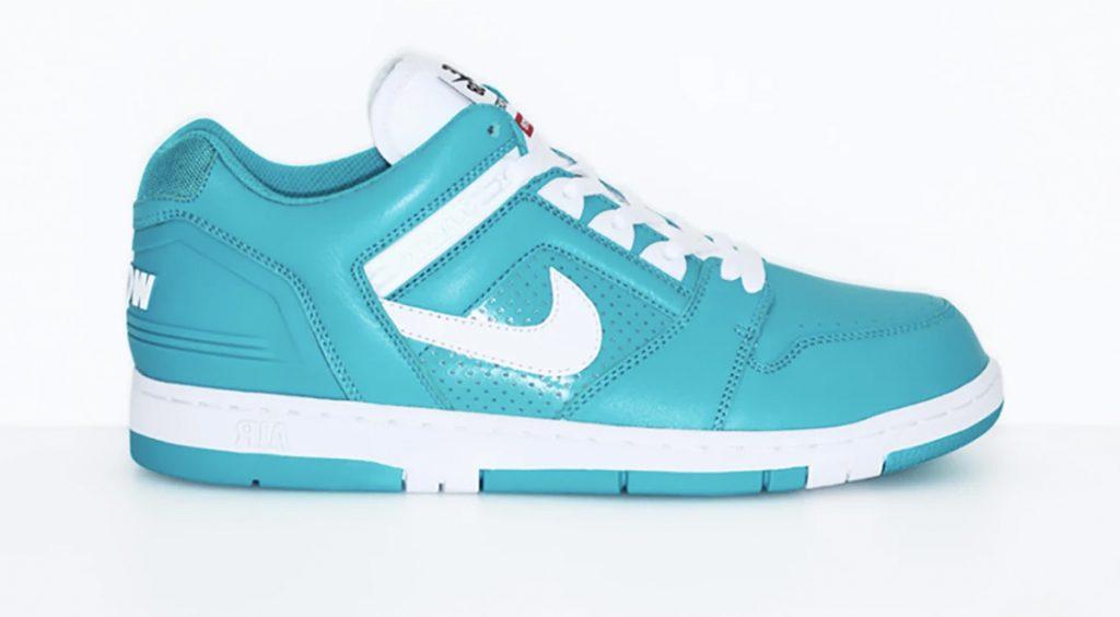 SS20 Supreme x Nike Air Force 1 Nike SB Air Force 2 Low Supreme Blue