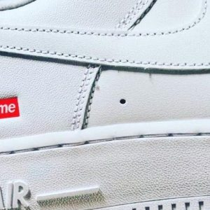 SS20 Supreme x Nike Air Force 1 The Sole Supplier