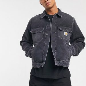 Streetwear Online Shopping Guide Carhartt WIP Stetson denim jacket in washed black
