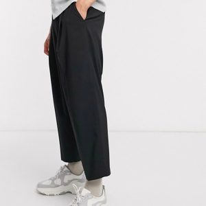 Streetwear Online Shopping Guide Reclaimed vintage wide leg smart trousers