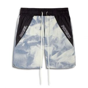 Surrender's SS20 washed denim shorts daniel patrick