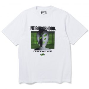 Surrender's SS20 white tee Neighborhood x PAM