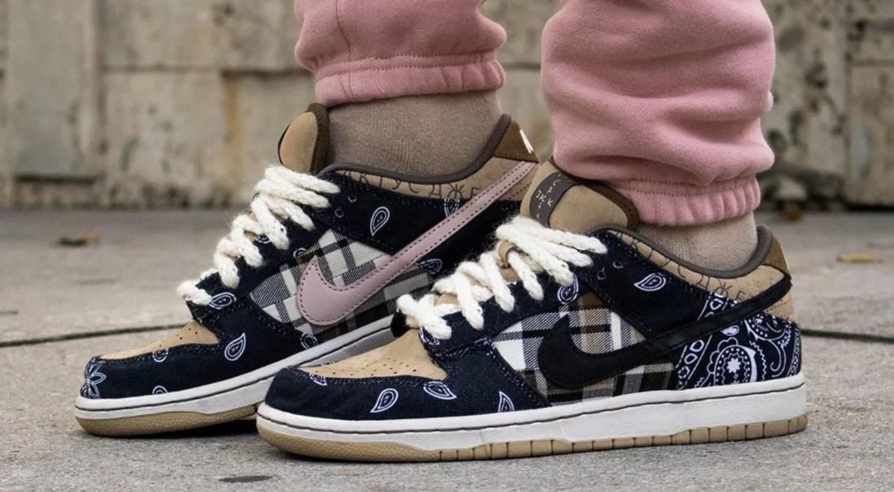 Travis Scott x Nike SB Dunk Low feature image