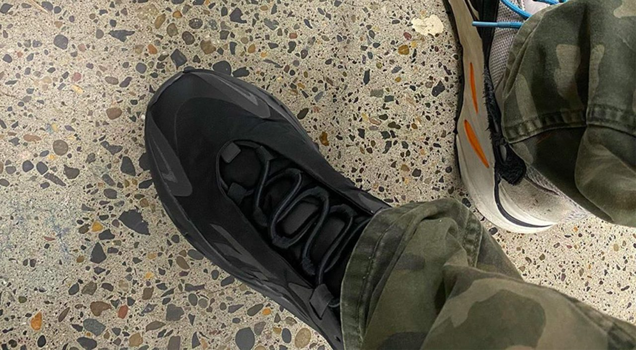 Yeezy Boost 700 MNVN Black feature