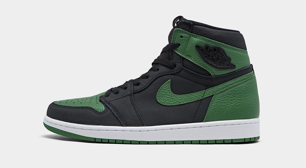 footwear drops air jordan 1 high pine green singapore release details 2020