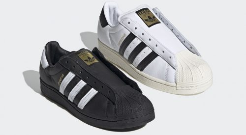 laceless Adidas Superstar feature