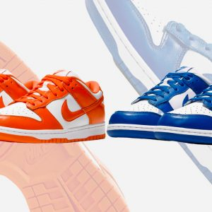 """Be True To Your School"" two colorways"