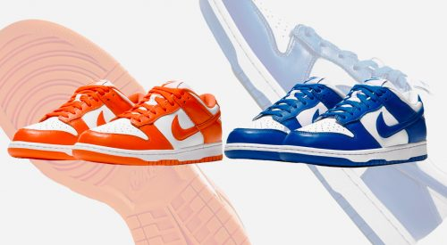 """""""Be True To Your School"""" two colorways"""