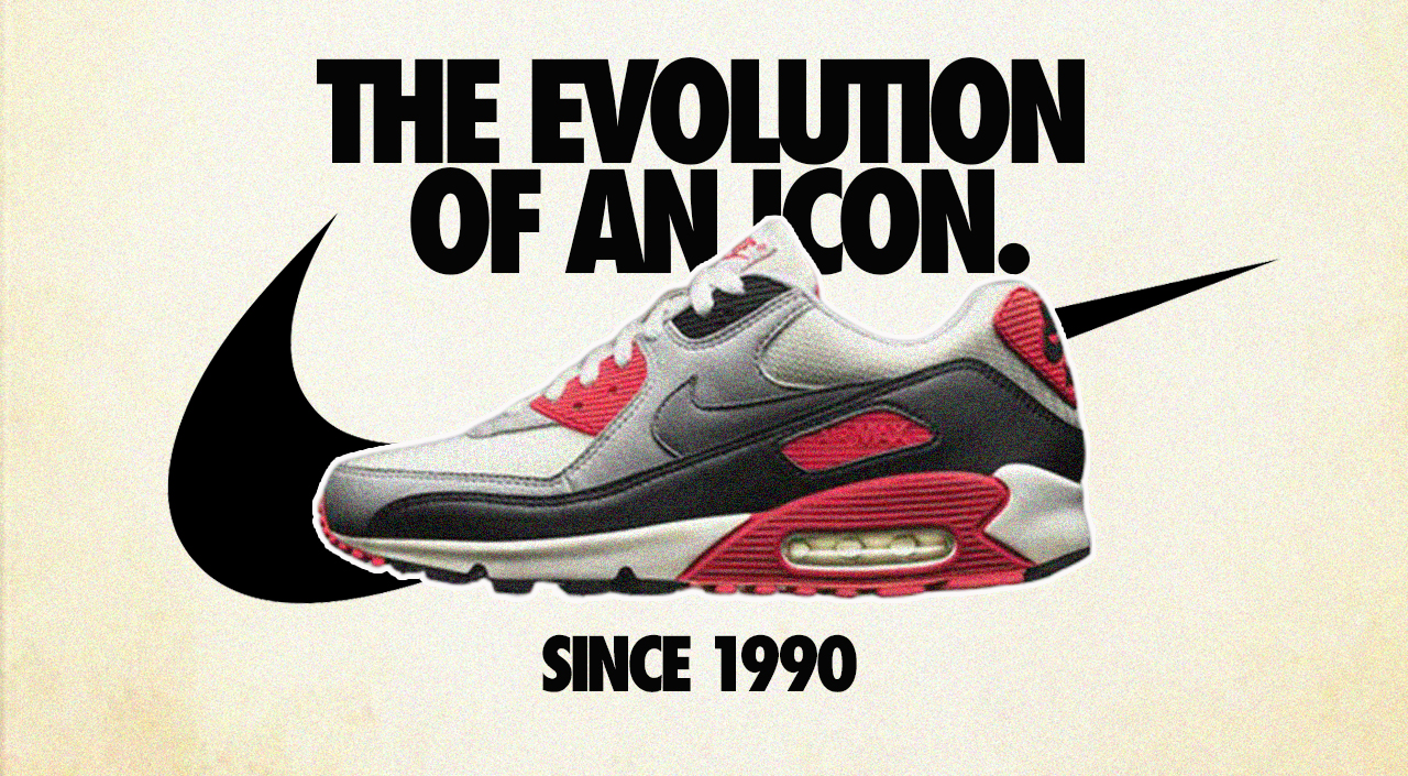 Evolution of the Nike Air Max 90: Updates and Upgrades Over 30 Years
