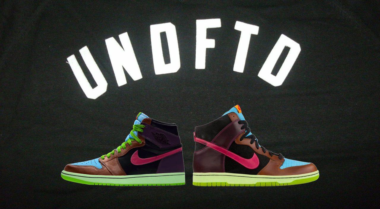"Air Jordan 1 High OG ""Undefeated Dunk"" SB Dunk"