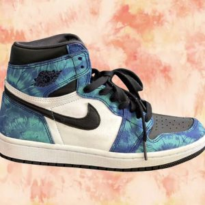 Air Jordan 1 High OG Tie Dye orange