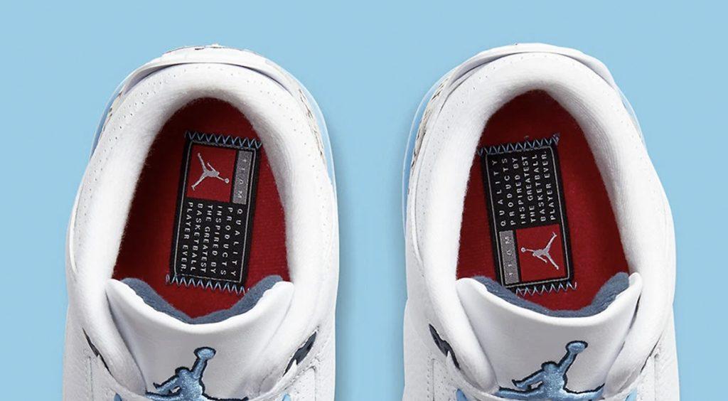 Air Jordan 3 UNC insole