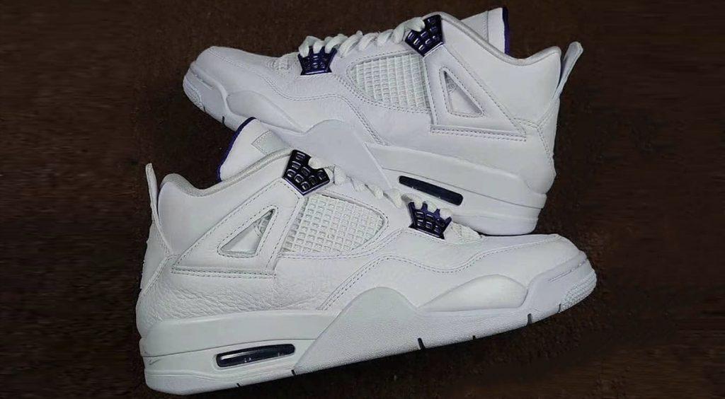 "Air Jordan 4 ""Court Purple"" leak"