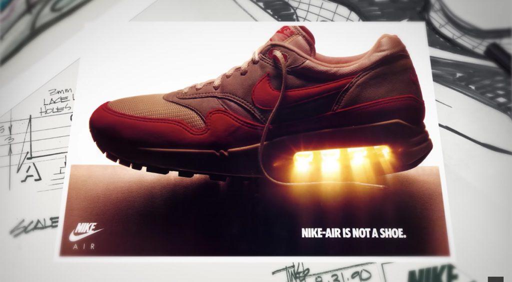 Air Max 90 to 2090 Air Max 1 ad