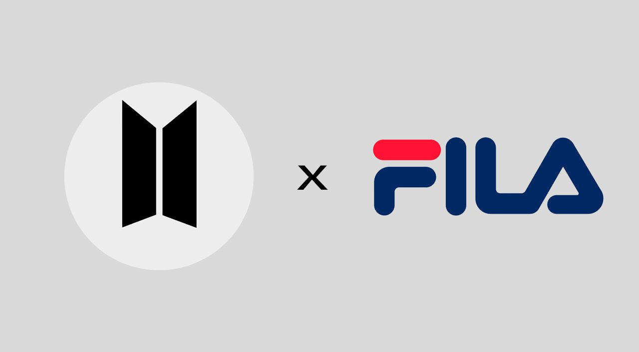 BTS Fila Fusion Collection feature