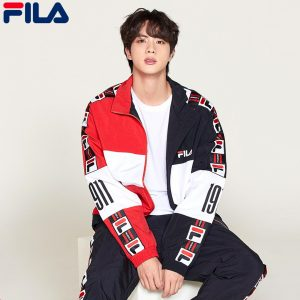 BTS Fila Fusion Collection outfit 1