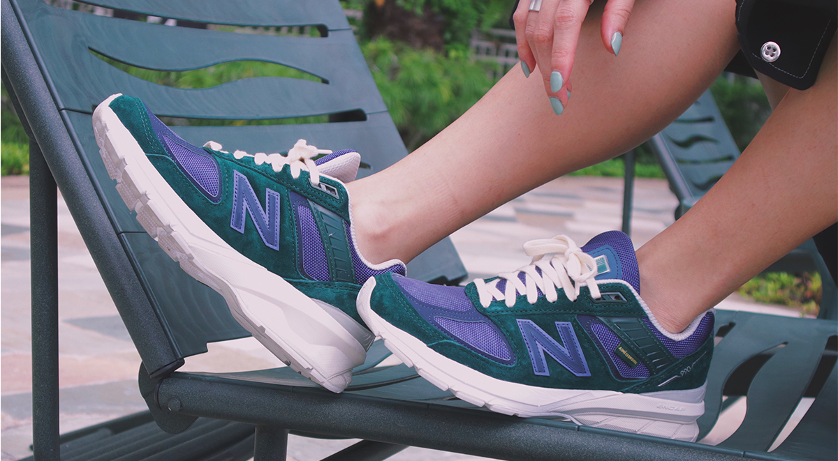 Clara Hong Collection Aime Leon Dore x New Balance 990