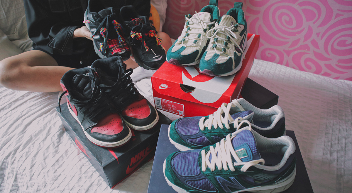 Clara Hong Collection singapore female sneakerhead top 4 grails