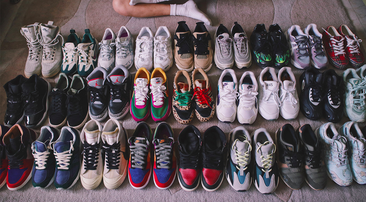 Clara Hong Collection singapore female sneakerhead