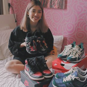 Clara Hong female sneakerhead singapore
