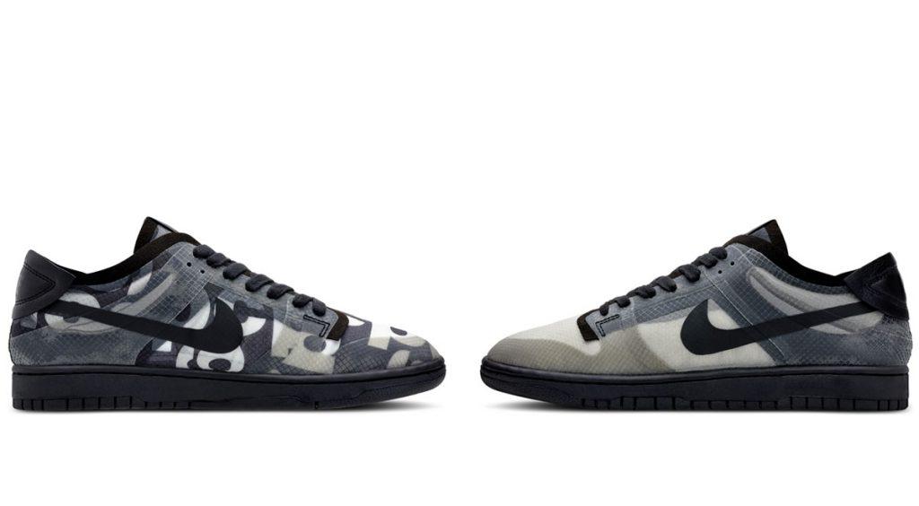 Comme des Garçons x Nike Dunk Low official images