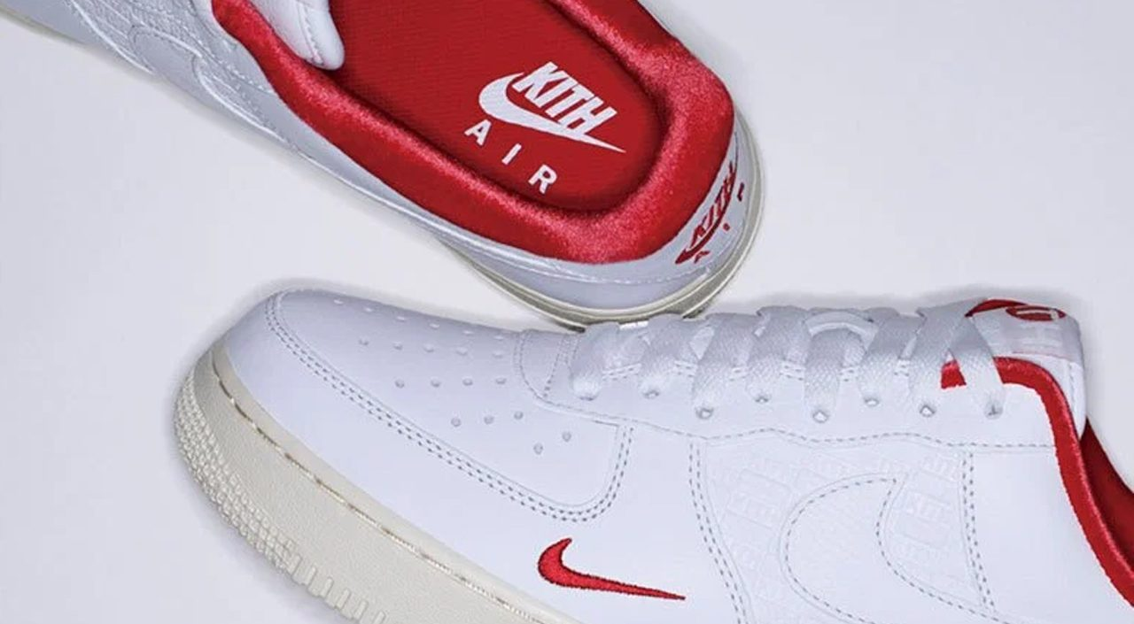 Kith x Nike Air Force 1 feature
