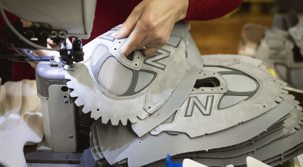 New Balance 990 production