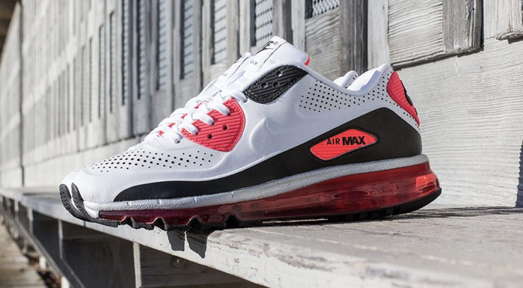 "Nike Air Max 90 NIKE AIR MAX 90 2014 LEATHER ""INFRARED"" Sneaker Freaker"