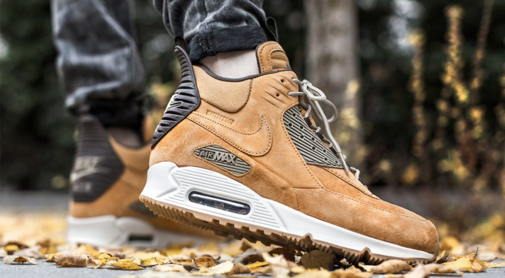 "NIKE AIR MAX 90 SNEAKERBOOT ""WINTER BRONZE"" tint footwear"