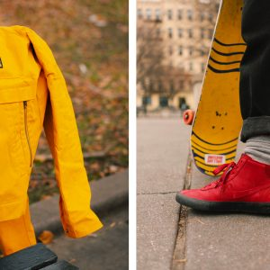 Nike SB Orange Label coach jacket and Bruin High