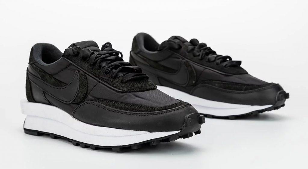 Nike x Sacai LDV Waffle Black footwear drops
