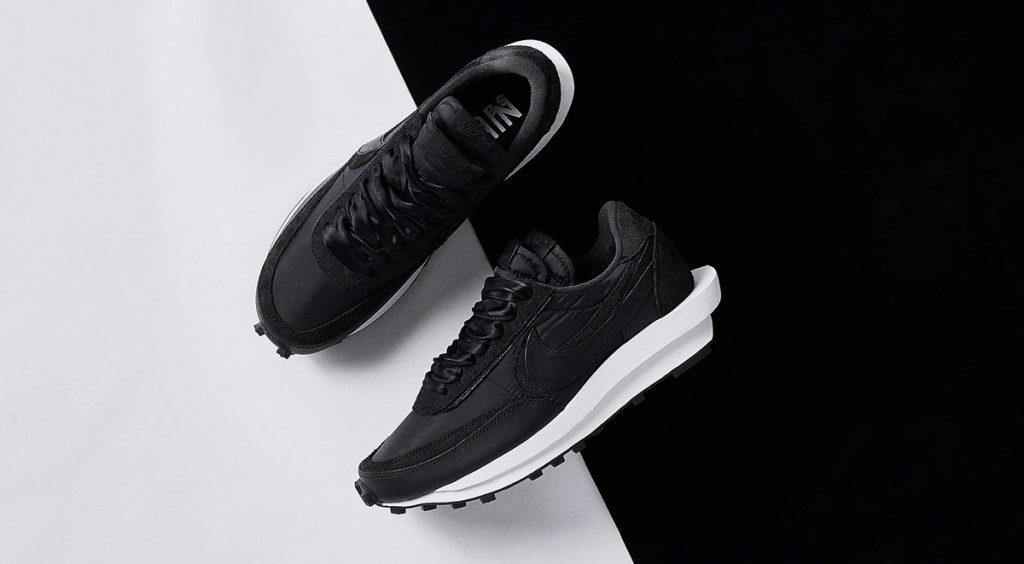 Nike x Sacai LDV Waffle Black singapore release details footwear drops