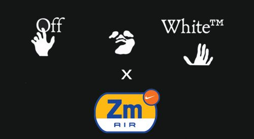 Off-White x Nike Zoom Tempo NEXT% logos